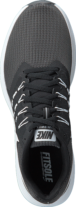Nike - Run Swift Black/white-dark Grey