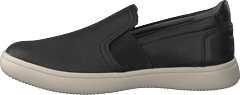 Ariell Gore Slip-on Black Lea