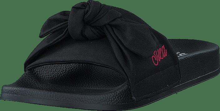 Svea - Alex Knot Slipper Black