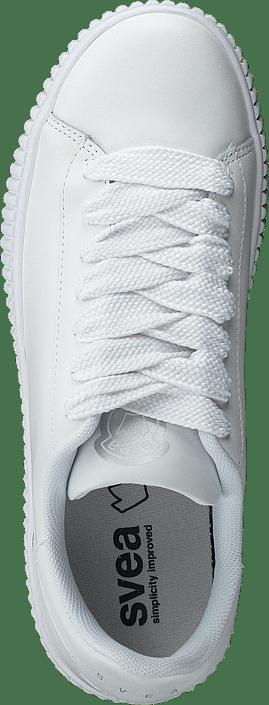 Svea - Anna Wide Lace Sneaker White