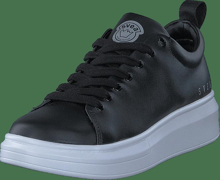 Black Sneaker Kjøp Sneakers Sko Svea Online Sorte Astrid nUaxt6U