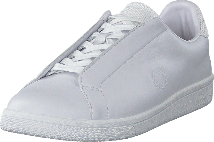 Fred Perry - B721 Premium Hidden Lace White