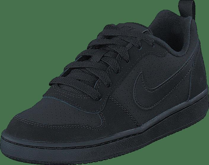 Nike - Nike Court Borough Low Gs Black/black-black