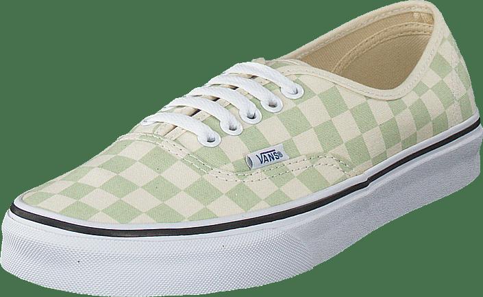 Vans - Ua Authentic Checker Ambrosia/white