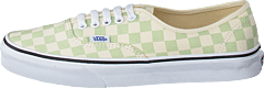 Ua Authentic Checker Ambrosia/white