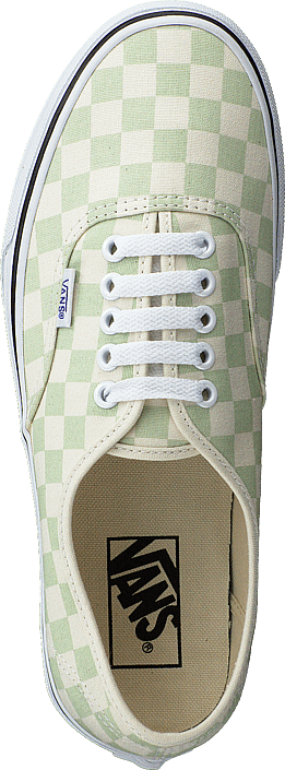 Ua Authentic Checker Ambrosia/white