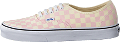 Ua Authentic Checker Chalk Pink/white