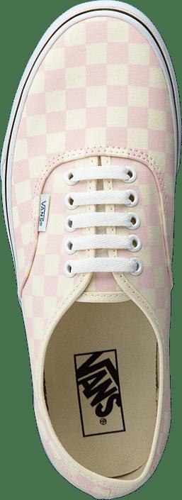 white Vans Hvite Sko Authentic Kjøp Checker Chalk Pink Online Ua Sneakers O7ROqZAY