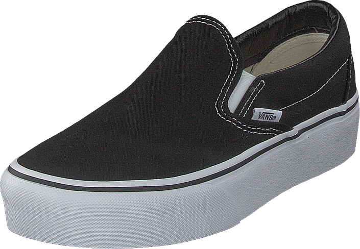 Ua Classic Slip on Platform Black