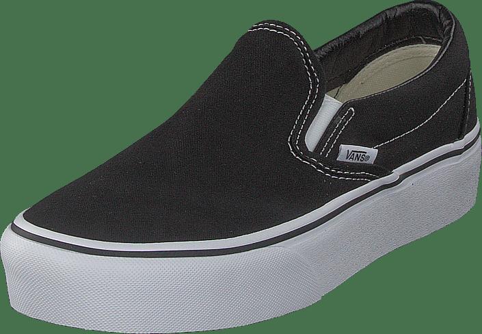11109507b760 Kjøp Vans Ua Classic Slip-on Platform Black sorte Sko Online ...