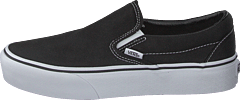 Ua Classic Slip-on Platform Black