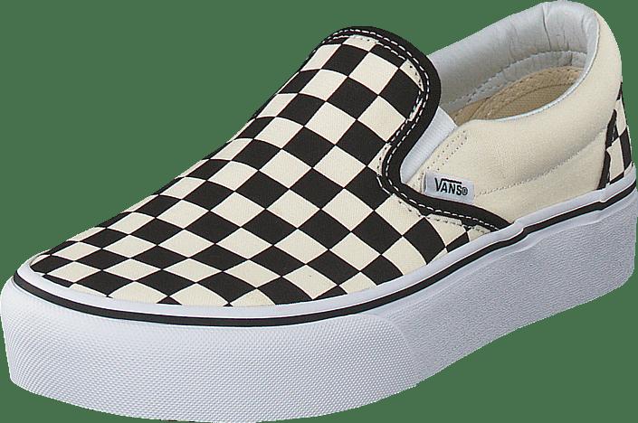 vans schoenen platform