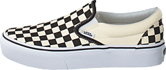 Ua Classic Slip-on Platform Black And White Checker/white