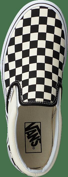 Ua Classic Slip-on Platform Black And White Checker/white