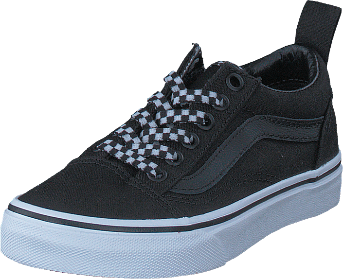 Uy Old Skool Elastic Lace Check Lace Black/true White