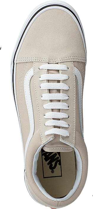 Ua Old Skool Silver Liningtrue White