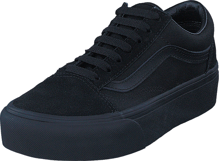Ua Old Skool Platform Blackblack