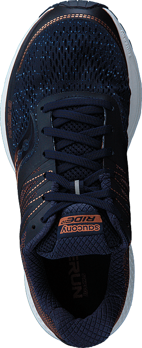 copper Saucony Online Navy Blå 10 denim Sko Sneakers Ride Kjøp AZPX4P
