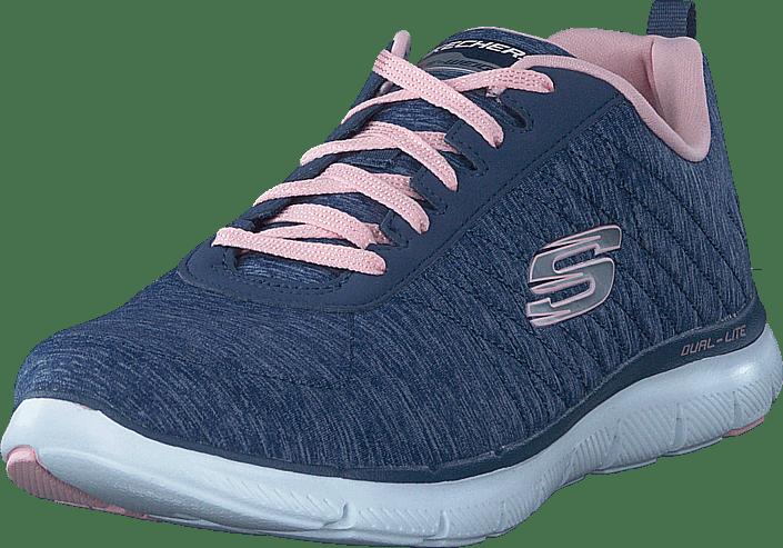 Appeal Sportsko Sko Flex 74 Nvy div 0 Sneakers div Skechers 60074 Online Og Køb Blå 2 EqTwSATxC