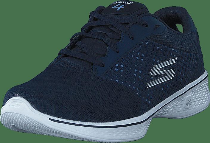 Blå Go Skechers Sneakers Sko Nvw Online Walk 4 Kjøp U7XwCq