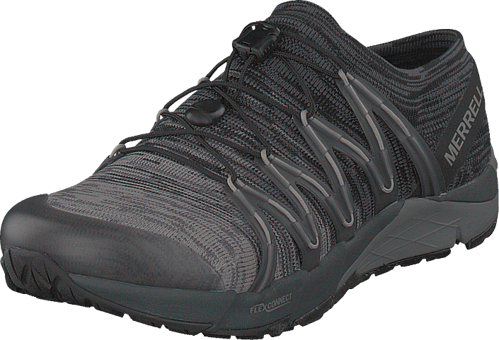 419e8ffba65 Buy Merrell Bare Access Flex Knit Black grey Shoes Online