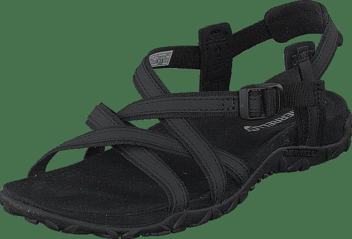03 Sko Merrell 60076 Terran Sorte Lattice Køb Black Og Ari Sandaler Online Tøfler fAFBq