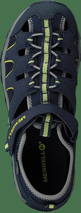Merrell - Hydro H20 Sandal Navy/lime