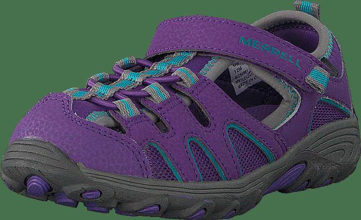 Hydro H20 Sandal Purple/grey
