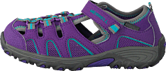 Hydro H20 Sandal Purple/grey