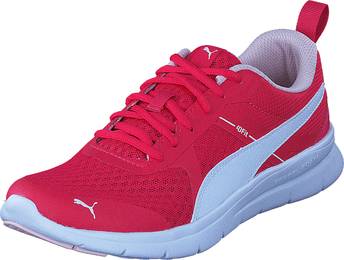 Buy Puma Puma Flex Essential Jr Paradise Pink-puma White pink Shoes ... 5d5fcd19c