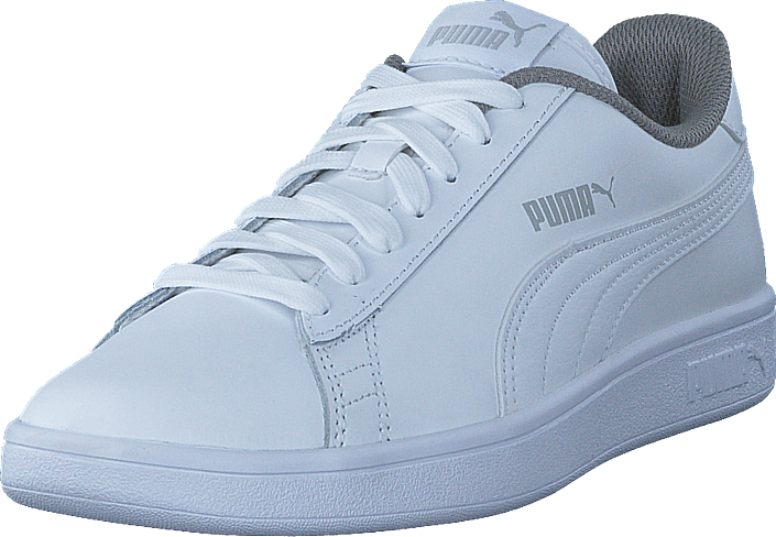 e69ac560457 Köp Puma Puma Smash V2 L Jr Puma White-puma White vita Skor Online ...
