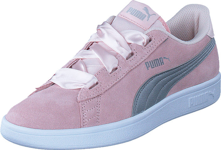 Puma Smash V2 Ribbon Jr Pearl puma Silver