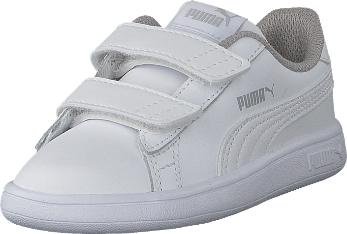 7a092fcd957 Köp Puma Puma Smash V2 L V Inf Puma White-puma White vita Skor ...