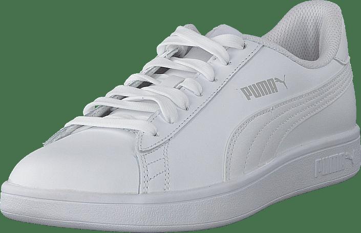 790dfbfe310 Köp Puma Puma Smash V2 L Puma White-puma White vita Skor Online ...