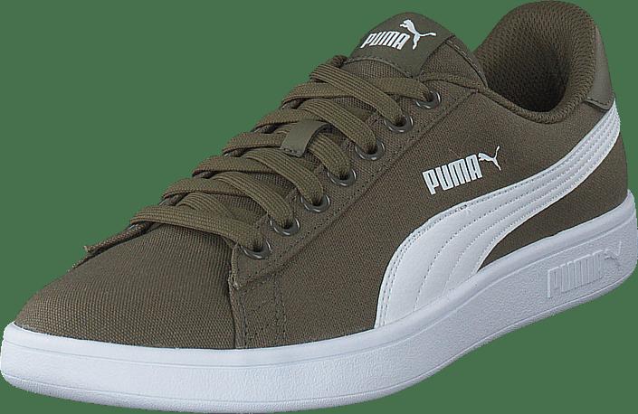 Puma Smash V2 Cv Puma Olive-puma White | Shoes for every occasion ...