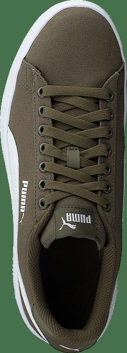 Puma Smash V2 Cv Puma Olive-puma White