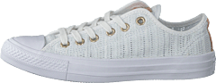 Chuck Taylor All Star White/tan/mouse