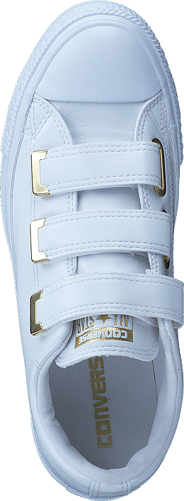 Converse - Chuck Taylor All Star 3v White/white/gold