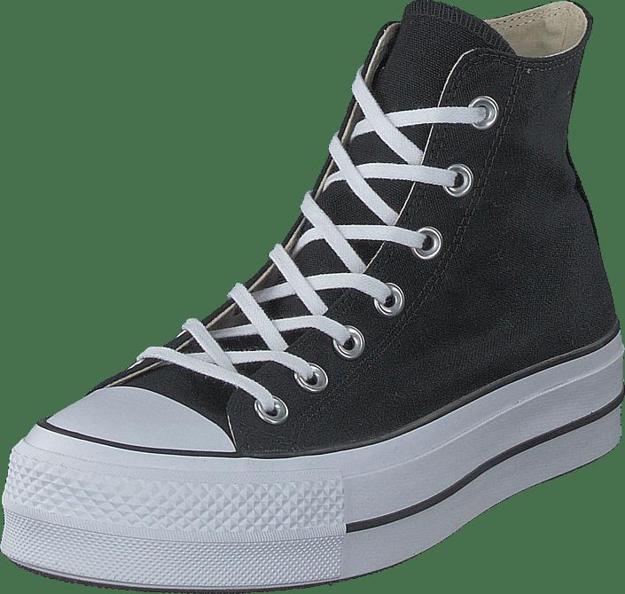 Acheter Converse Noirs Chuck Blackwhitewhite Lift Taylor Star All Rjq453AL