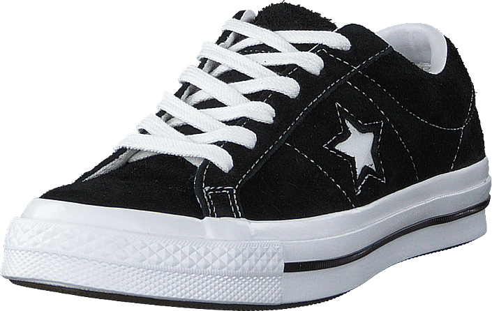 Converse - One Star Black/white/white