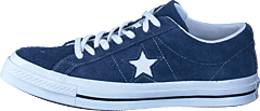 One Star Navy/white/white