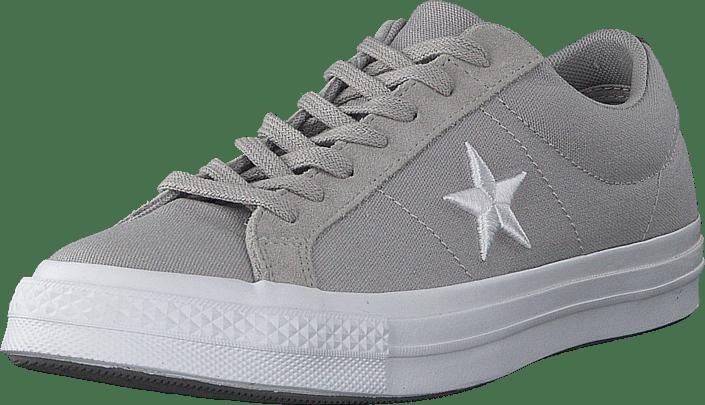 One Star - Ox Ash Grey/white/mason