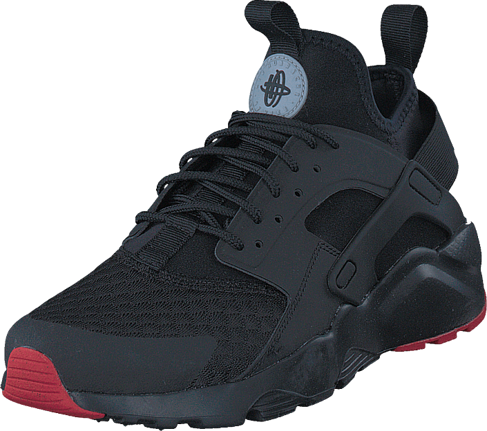super popular 1c61b 722ac Nike - Air Huarache Run Ultra Black metallic Silver