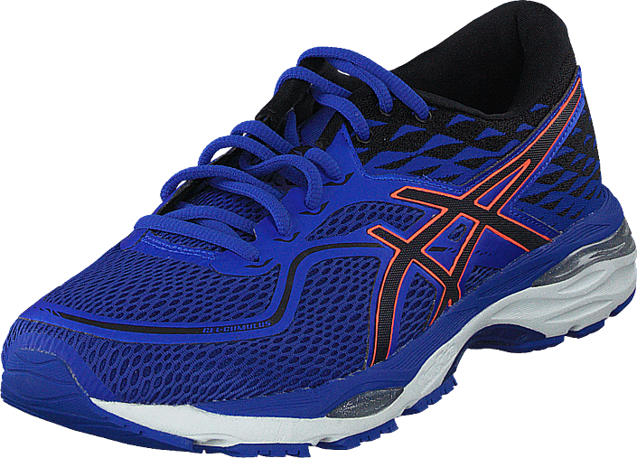 98faf9c84 Buy Asics Gel Cumulus 19 Blue black flash blue Shoes Online ...