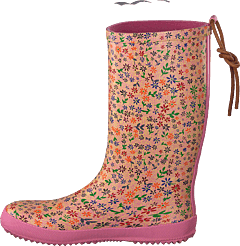 Fashion Rubberboot Rose Flower