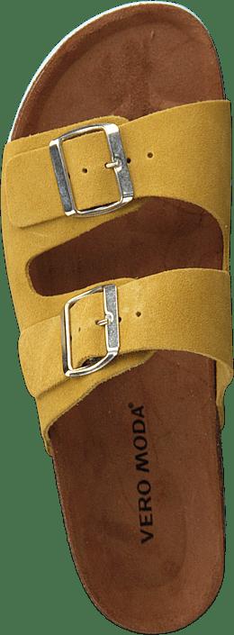 d7aa62d3 Kjøp Vero Moda Julia Leather Sandal Cream Gold brune Sko Online ...