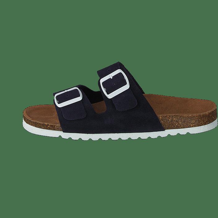 49df1c4a Kjøp Vero Moda Julia Leather Sandal Night Sky brune Sko Online   FOOTWAY.no