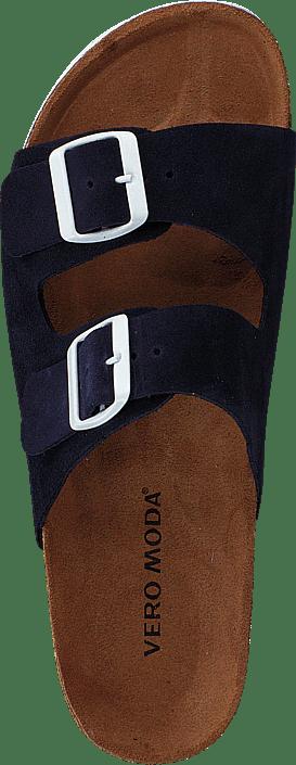 Julia Leather Sandal Night Sky