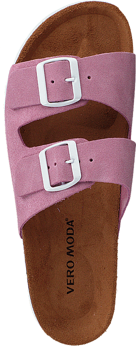 Vero Moda - Julia Leather Sandal Opera Mauve