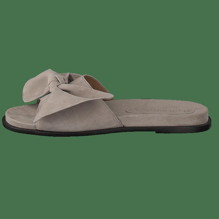 a94192da Kjøp Vero Moda Bow Leather Sandal Ash brune Sko Online   FOOTWAY.no